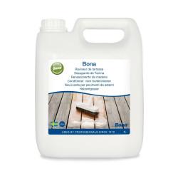 Decapante para limpeza de deck de madeira exterior