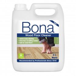 Produto limpeza pavimentos de madeira envernizados recarga 4 Litros